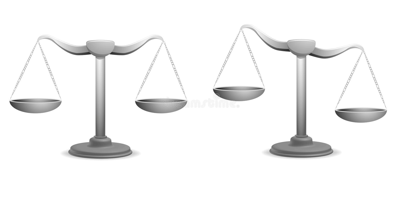 Equilibri illustrazione vettoriale