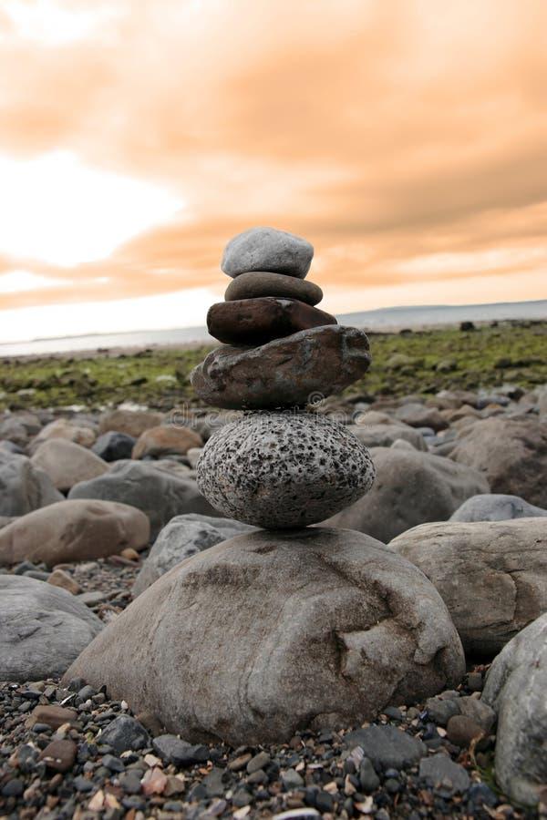 Equilibrio 3 di zen immagini stock libere da diritti