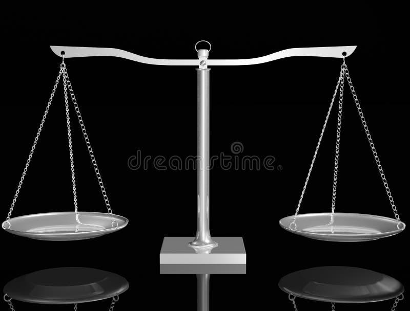 Equilibrio de plata libre illustration