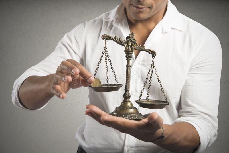 Equilibrio dei guadagni immagini stock libere da diritti