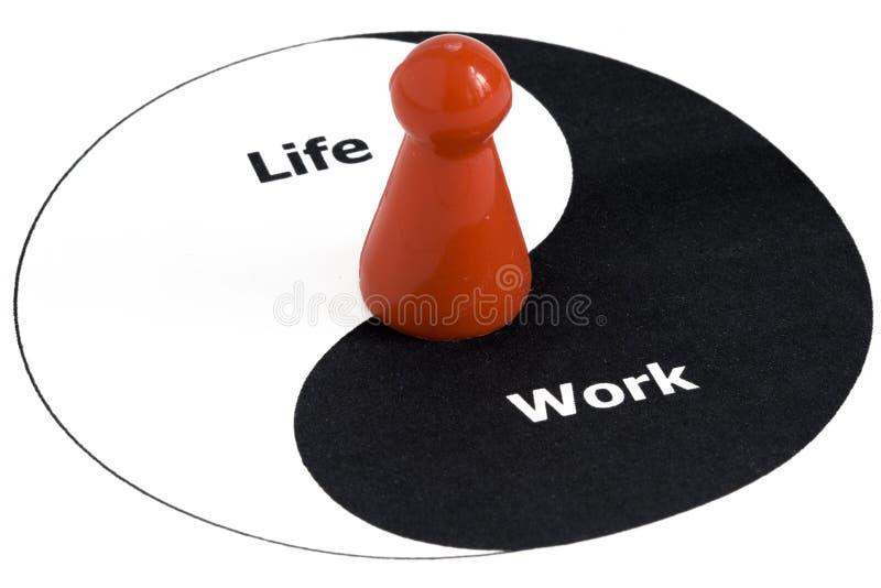 Equilibrio del lavoro e di vita immagine stock