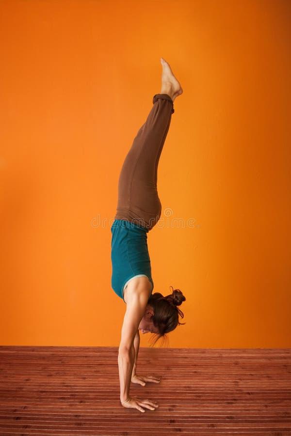 Equilibrio di yoga fotografia stock