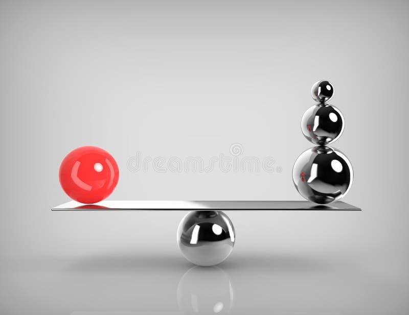 Equilibrio perfecto libre illustration