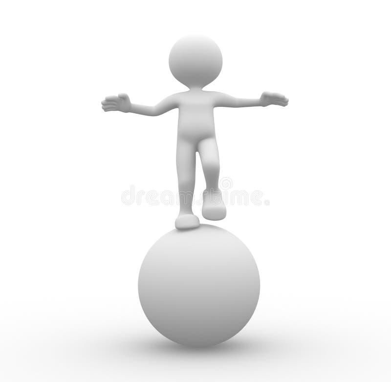 Download Equilibrium stock illustration. Image of cartoon, image - 32143970