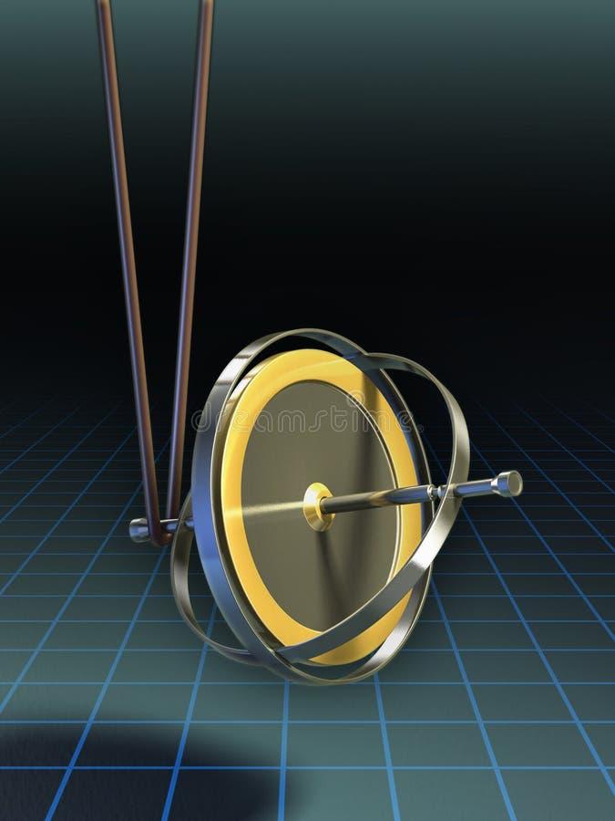 Download Equilibriumgyroskop stock illustrationer. Illustration av rotation - 19785590