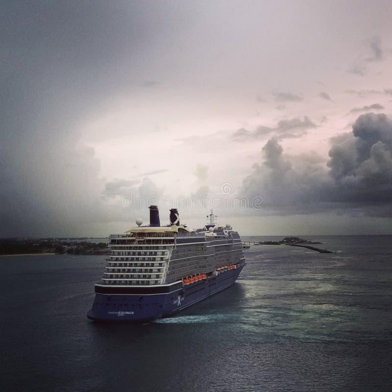 Equinoccio de la celebridad en Nassau, Bahamas fotos de archivo libres de regalías