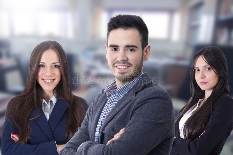 Equip business team royalty free stock photos