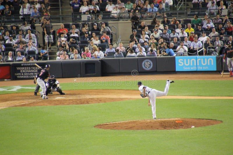 Equipa de beisebol de New York imagens de stock