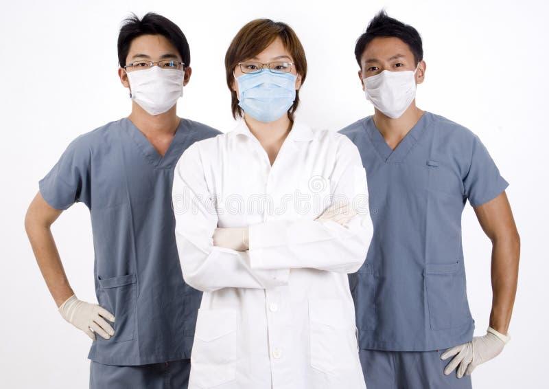 Equipa médica imagens de stock