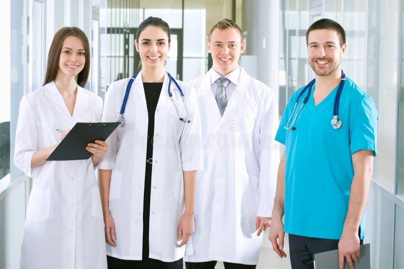 Equipa médica imagem de stock