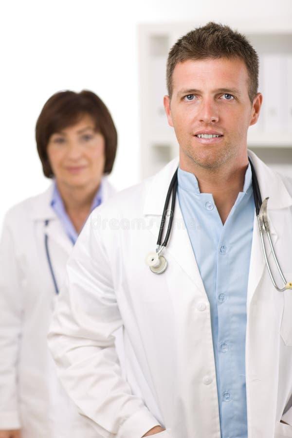 Equipa médica - doutores imagens de stock