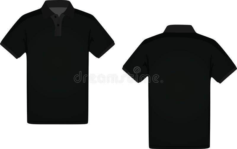 Equipa o t-shirt do polo ilustração do vetor