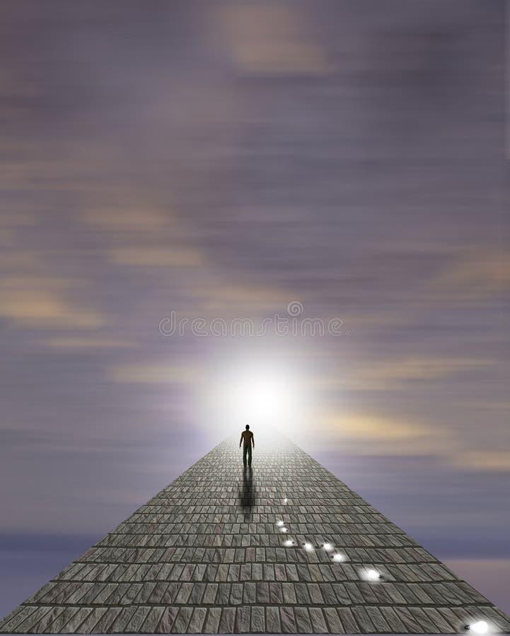 Equipa a viagem da alma ilustração stock