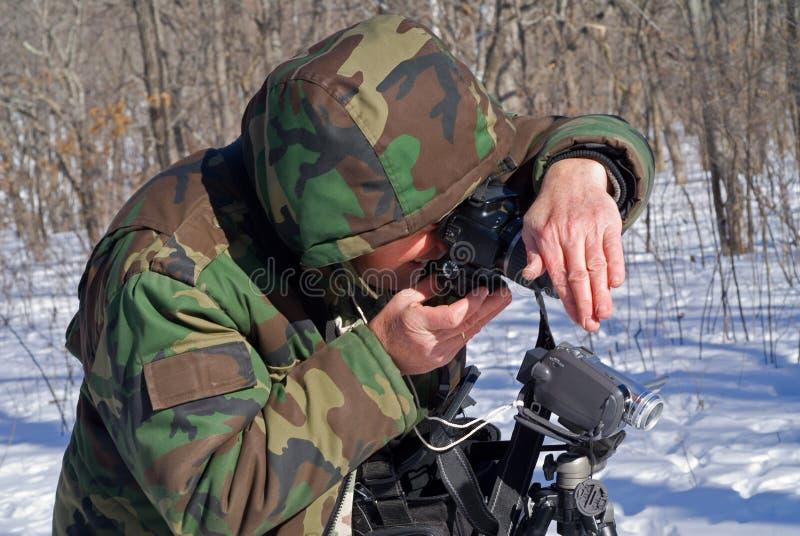Equipaggi con la macchina fotografica 6 immagini stock libere da diritti
