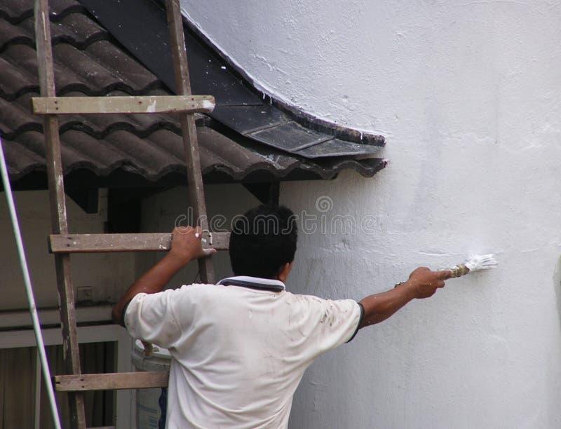 Equipaggi La Pittura #2 Fotografia Stock