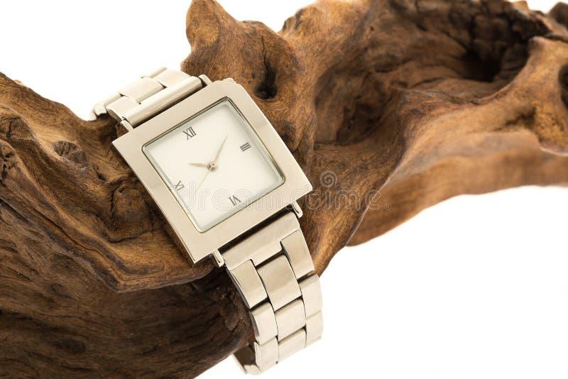 Equipaggia l'orologio fotografie stock libere da diritti