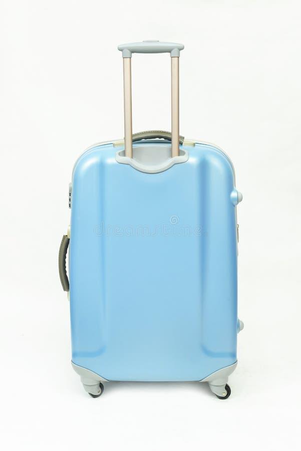 Equipaje azul aislado fotos de archivo libres de regalías