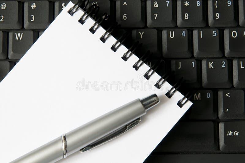 equipamenten skriver arkivbild