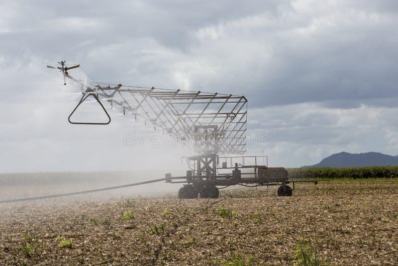 Equipamento aéreo da irrigação de pulverizador fotos de stock