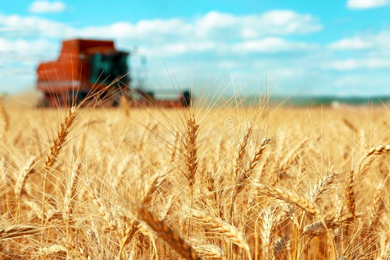 Equipamento agrícola moderno imagem de stock