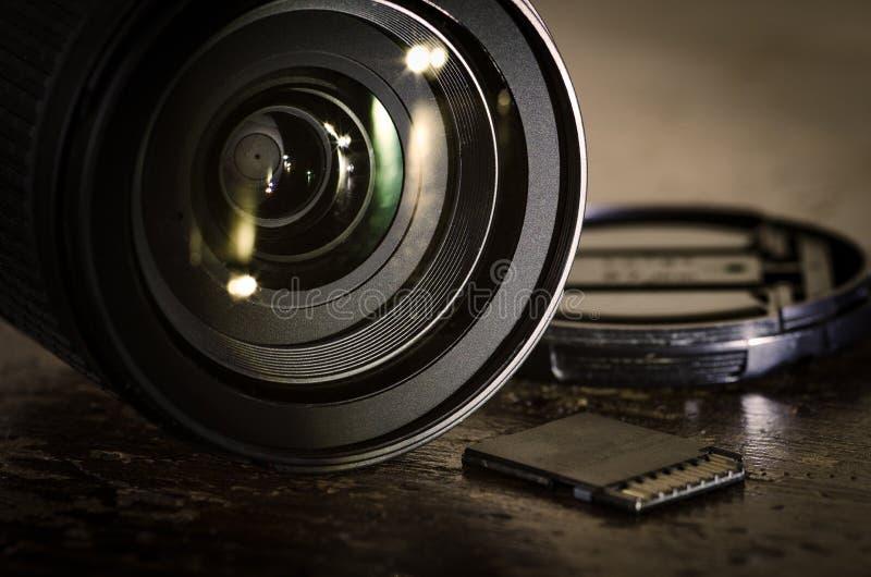 Equipamento da câmera imagens de stock royalty free