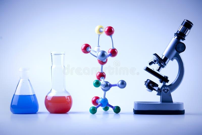 Equipamento da química fotos de stock royalty free