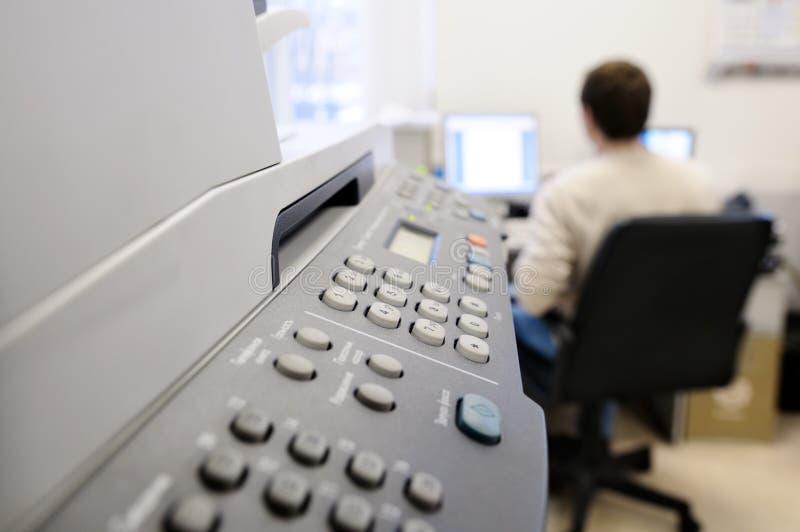 Equipamento de escritório. foto de stock royalty free