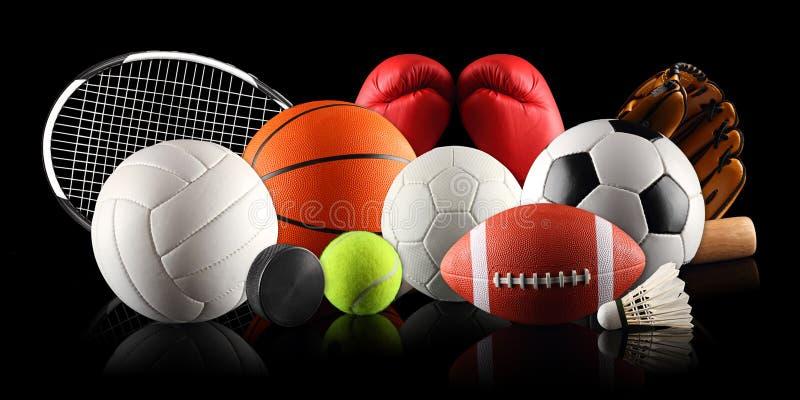 Equipamento de esporte 2 fotos de stock royalty free