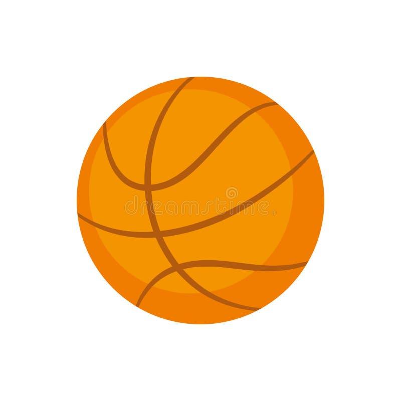 Equipamento de esportes Basquetebol ilustração do vetor