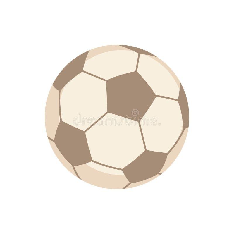 Equipamento de esportes Futebol ilustração stock