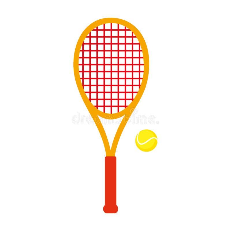 Equipamento de esportes tênis ilustração royalty free