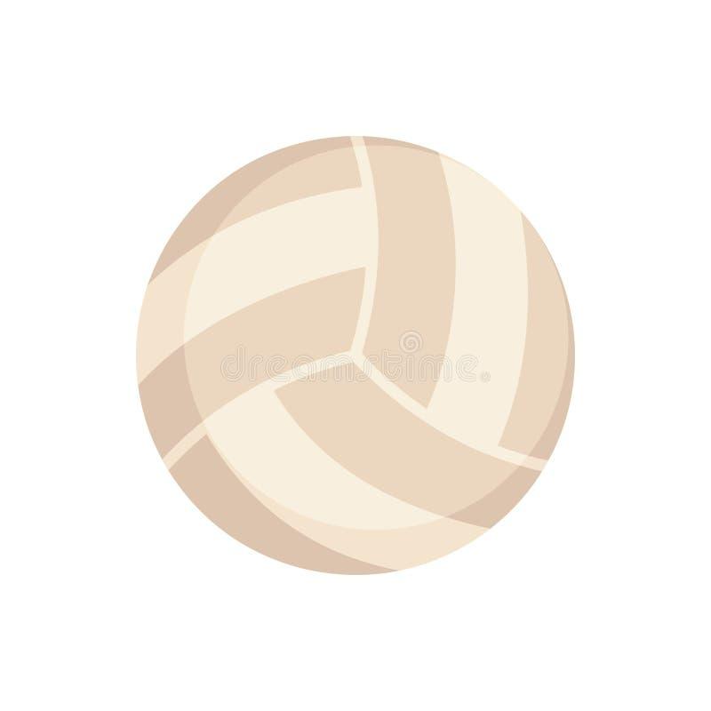 Equipamento de esportes Voleibol ilustração do vetor
