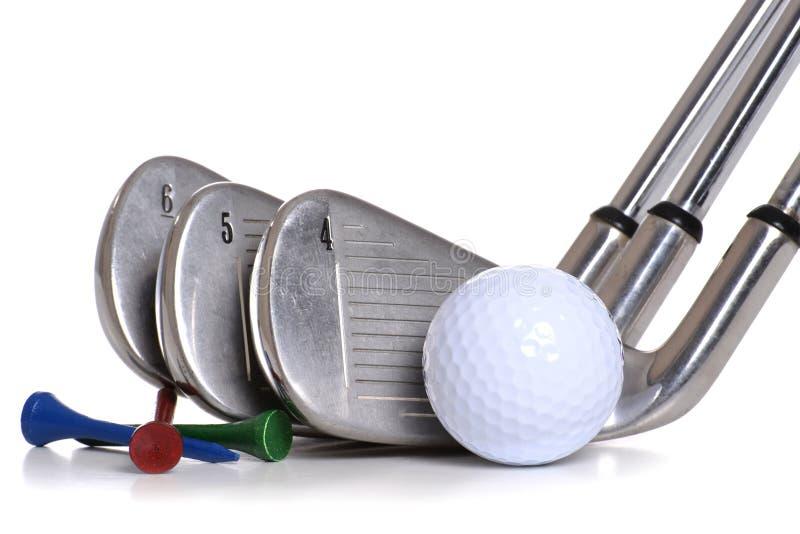 Equipamento de golfe fotos de stock royalty free