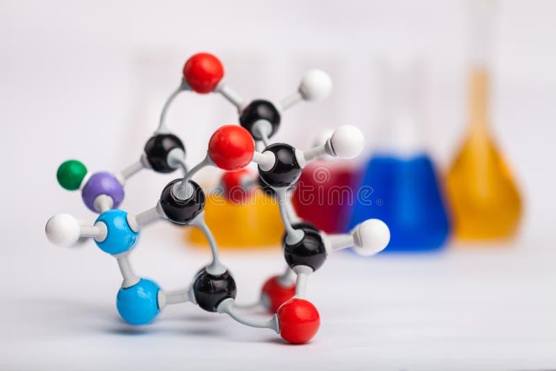 Equipamento de laboratório da química imagens de stock royalty free
