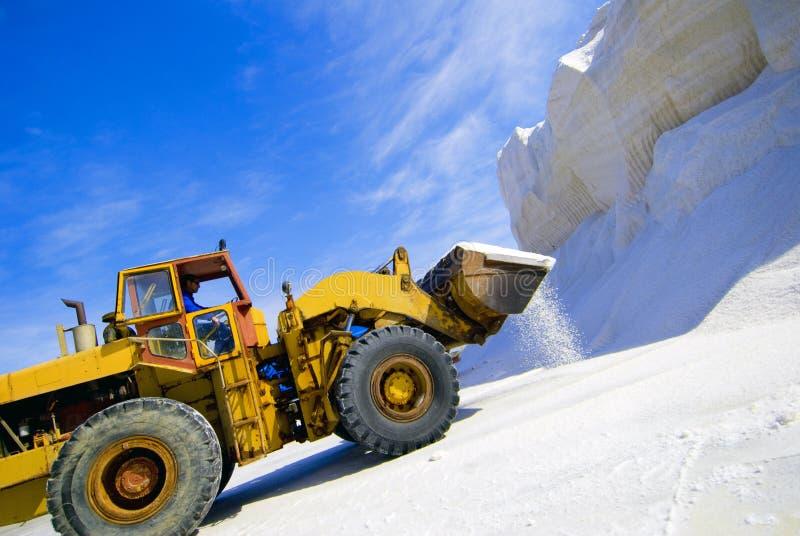 Equipamento de mineração de sal   foto de stock royalty free