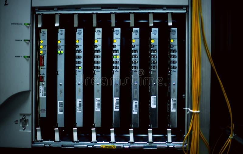Equipamento de rede do CAD imagens de stock royalty free