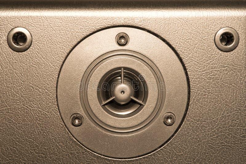 Equipamento de sistema audio fotografia de stock royalty free