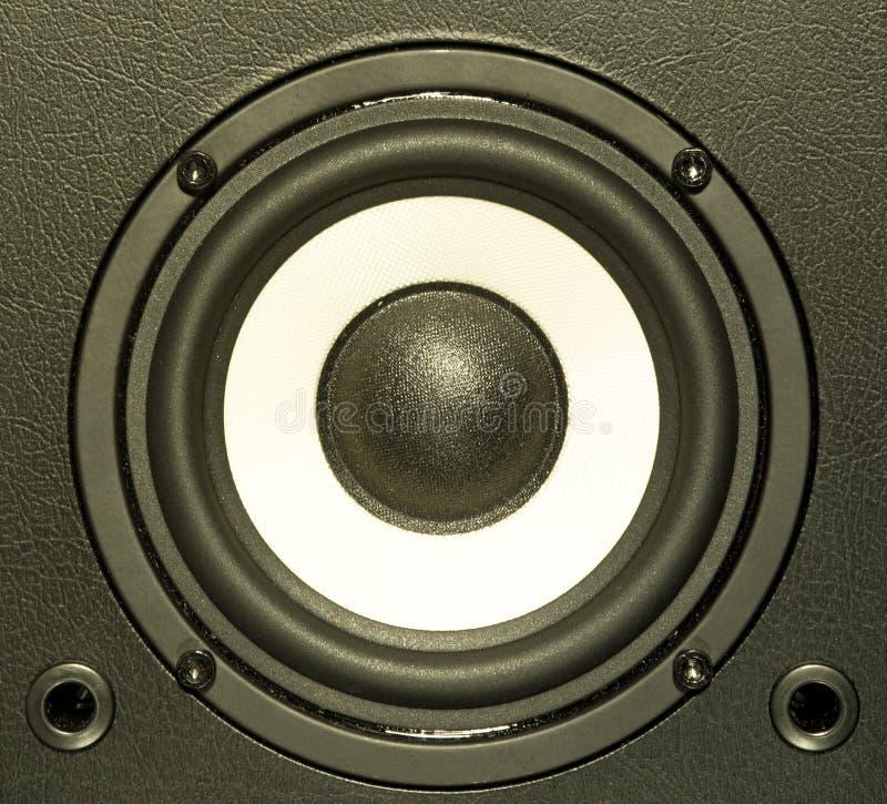 Equipamento de sistema audio imagens de stock