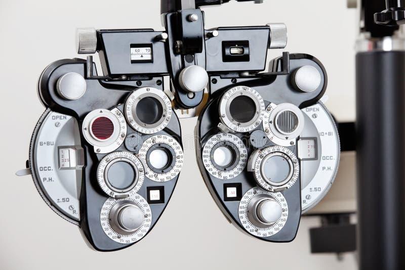 Equipamento de testes do olho foto de stock royalty free