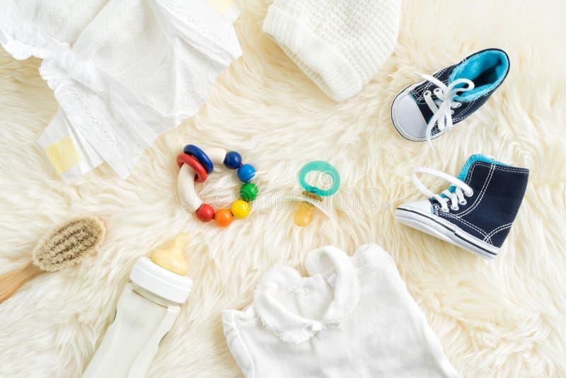 Equipamento do bebê imagens de stock