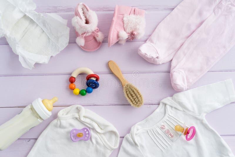 Equipamento do bebê fotografia de stock