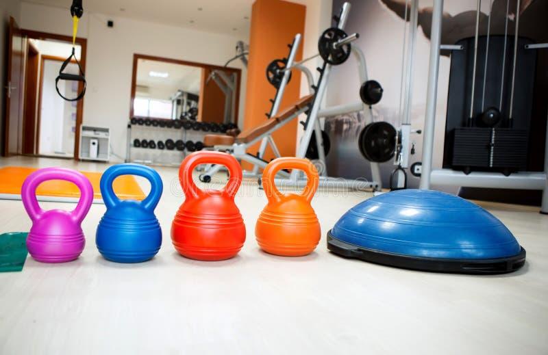 Equipamento do Gym fotografia de stock royalty free