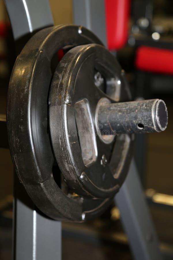 Equipamento do Gym foto de stock