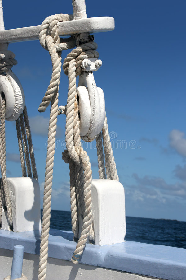 Equipamento do navio foto de stock royalty free