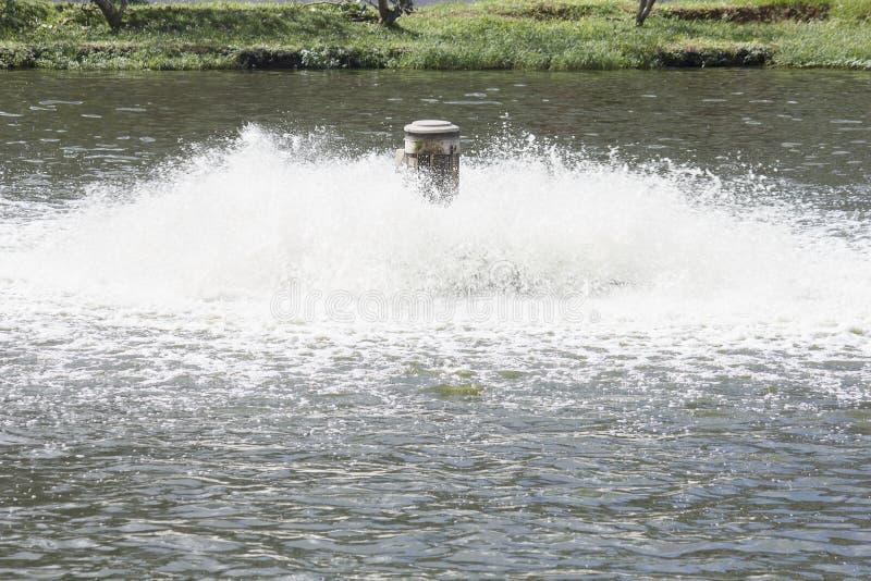 Equipamento do tratamento da água fotografia de stock