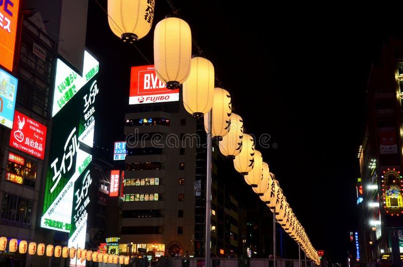 Equipamento e Bill tradicionais de iluminação da lanterna japonesa ou da lâmpada imagens de stock royalty free