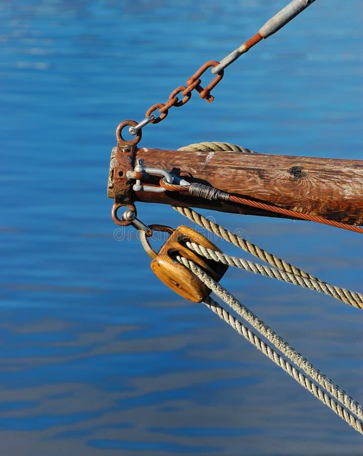 Equipamento e cordas imagem de stock
