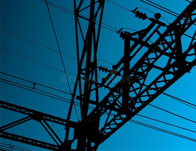 Equipamento elétrico ilustração do vetor