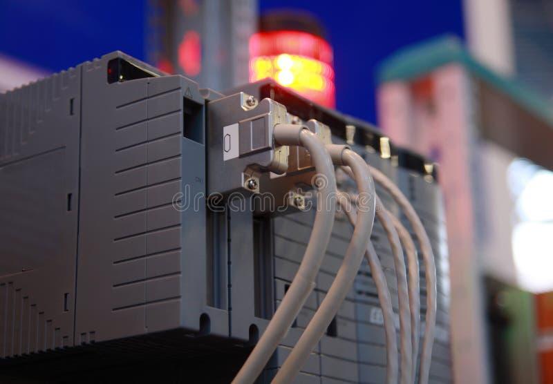 Equipamento eletrônico industrial. foto de stock