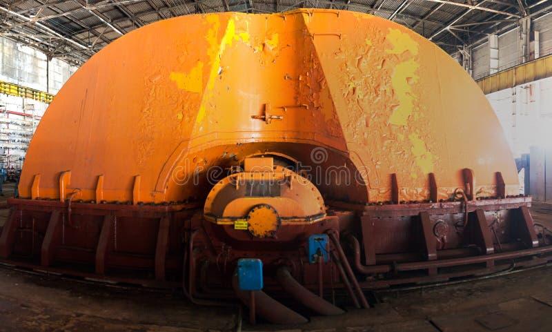 Equipamento industrial do central nuclear fotografia de stock royalty free